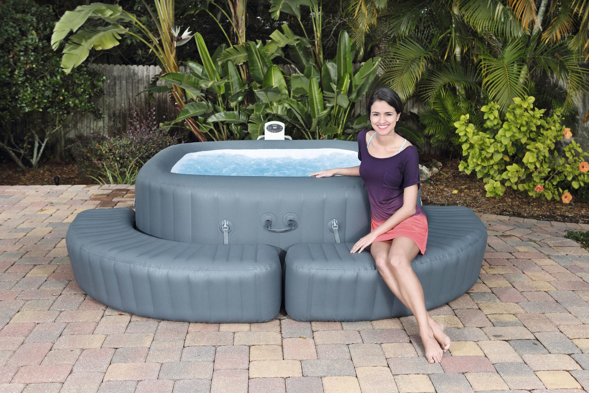 Entourage de spa pour encore plus de confort