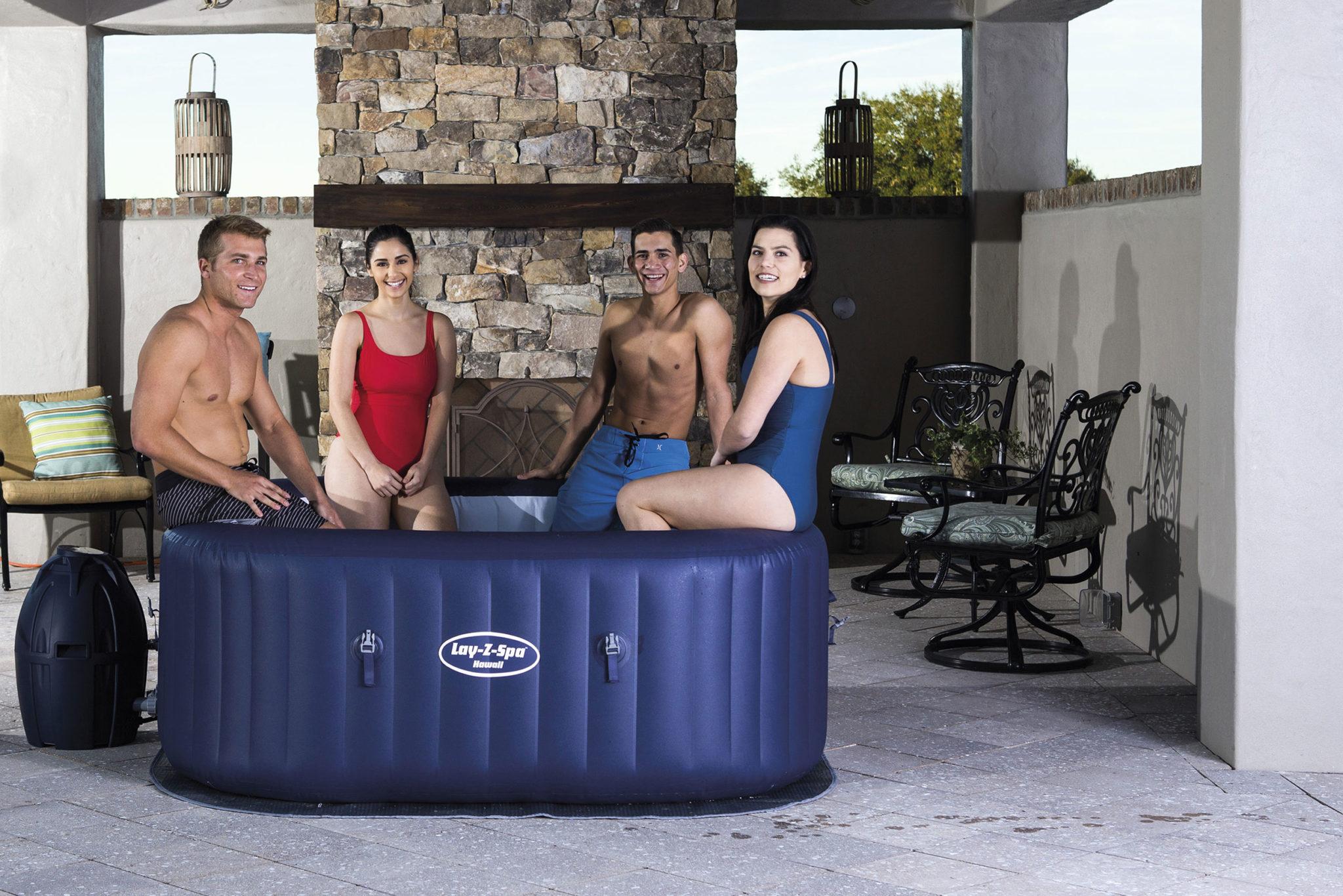 5 modèles de spa à la maison recommandés par Lay-z-Spa
