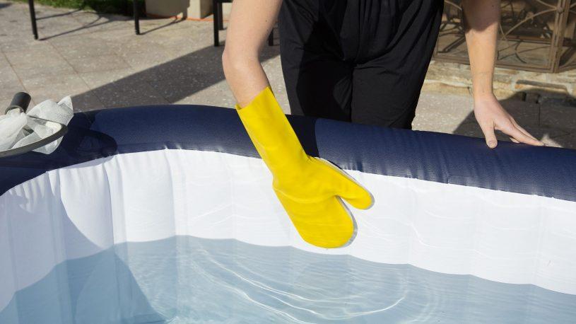 Instructions pour le nettoyage du spa gonflable