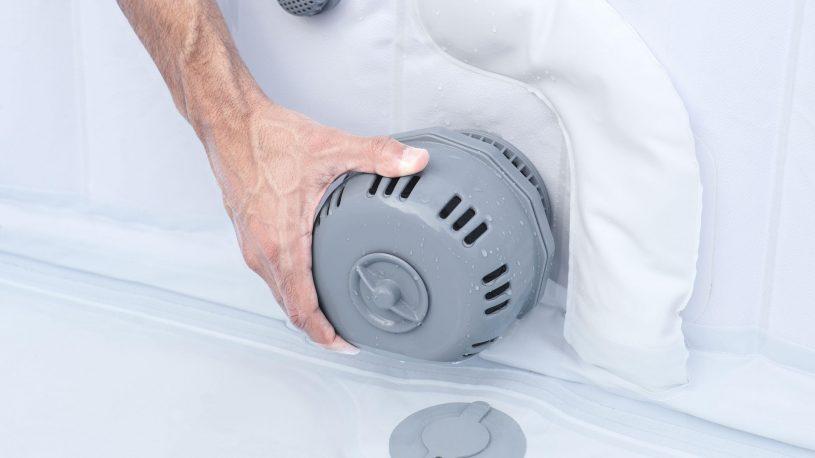 Mode d'emploi pour nettoyer le filtre du spa gonflable