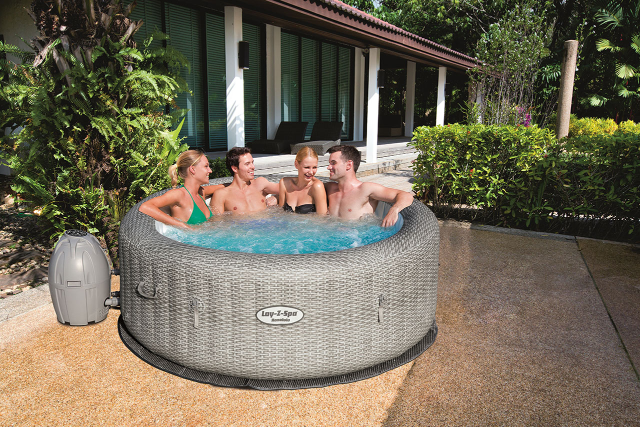 Où installer mon spa gonflable Lay-Z-Spa